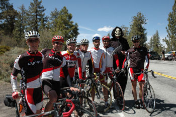 7 Cyclists and 1 Reaper